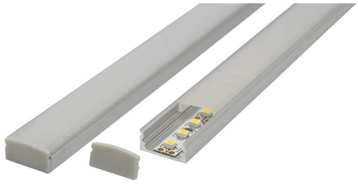 aluminium profile shallow