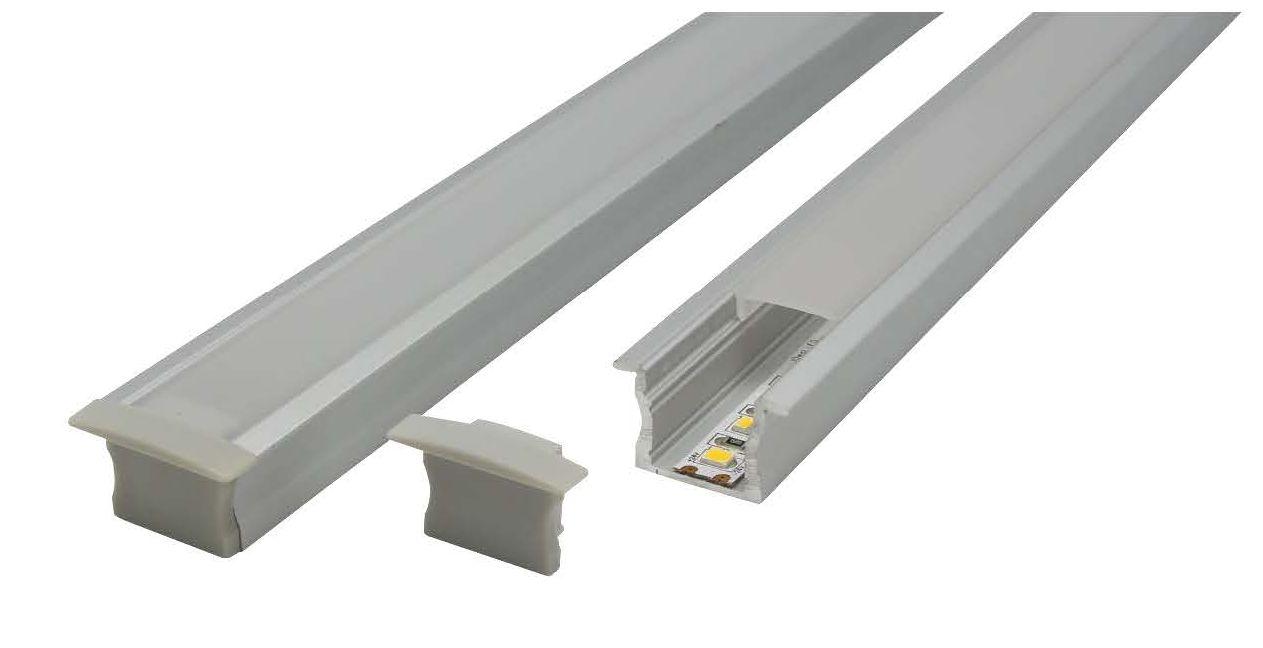 LED Profile - Recessed Aluminium Profile E703-R