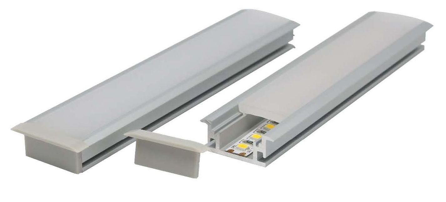 Recessed aluminium profile australian supplier of high for Floor profile