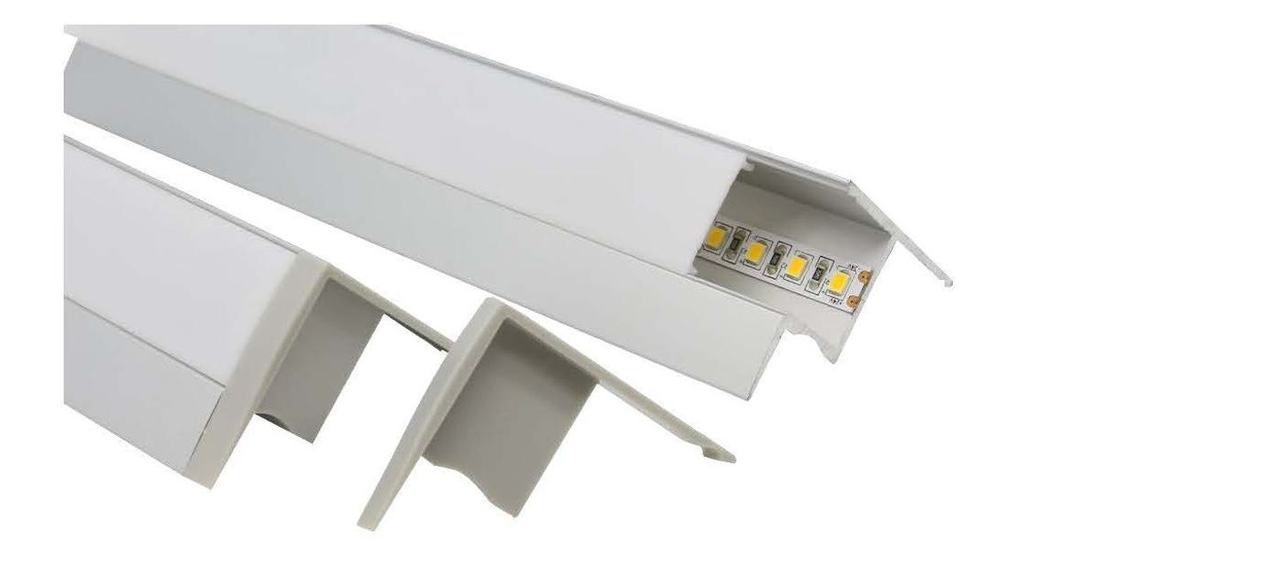 Cove lighting aluminium profile E741-R