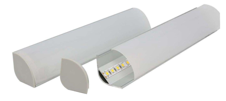 E816 large corner Australian made aluminium profile