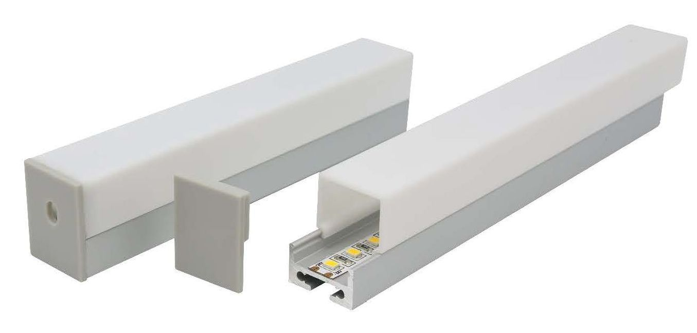 E828 -PC small suspended aluminium profile
