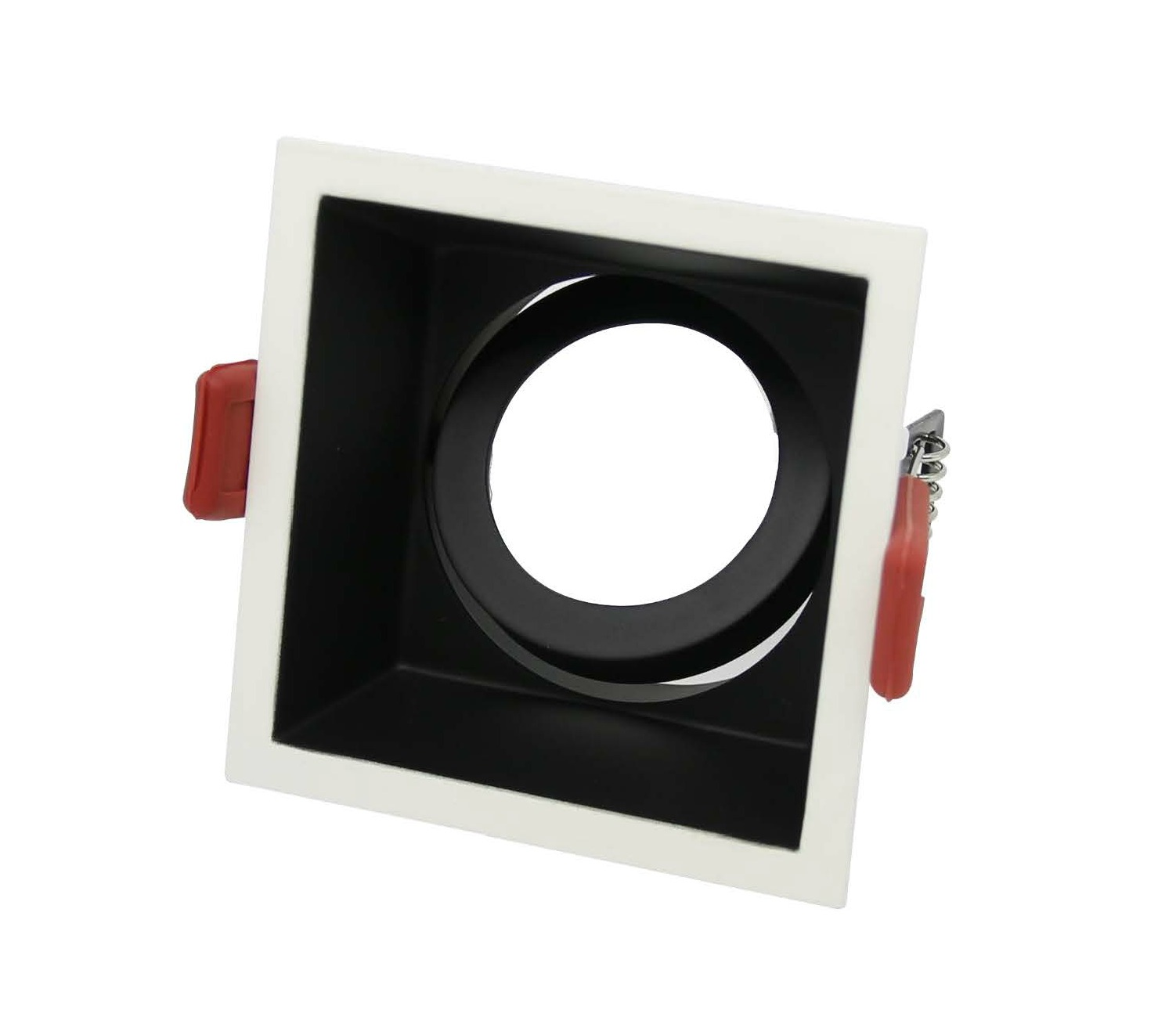 low glare square downlight frame