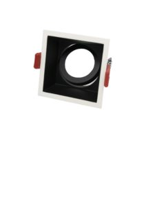 F80SB square low glare downlight frame