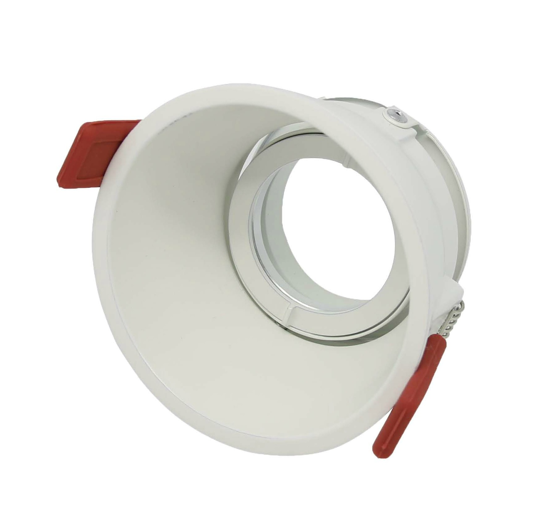 round semi trimless downlight frame