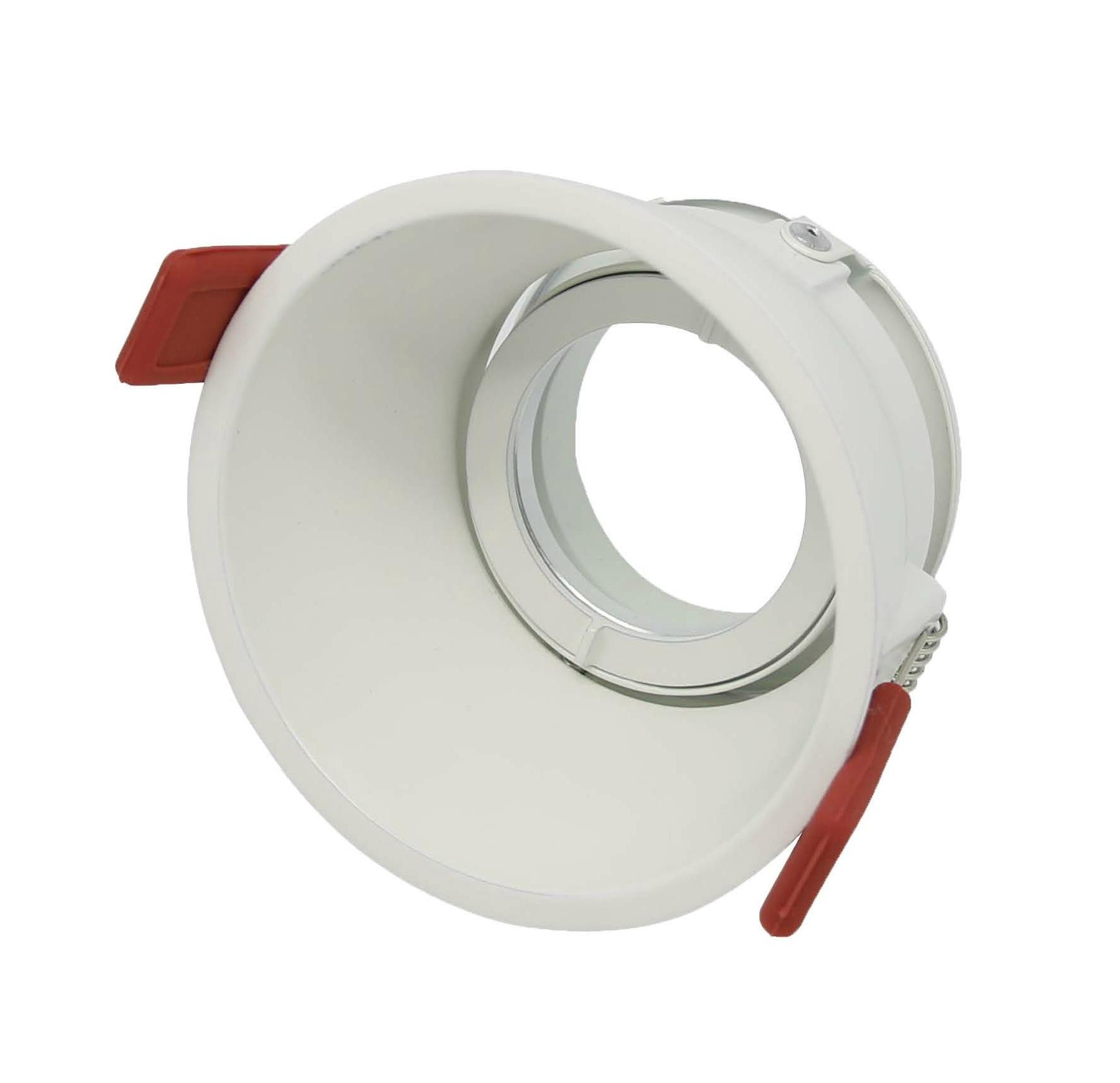 round semi trimless downlight frame