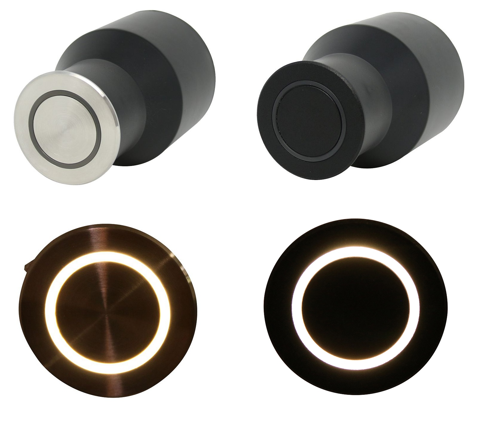 HALO Recessed Floor or Wall Light