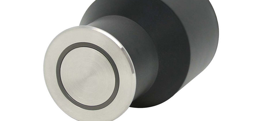 LED Outdoor Halo floor or wall light