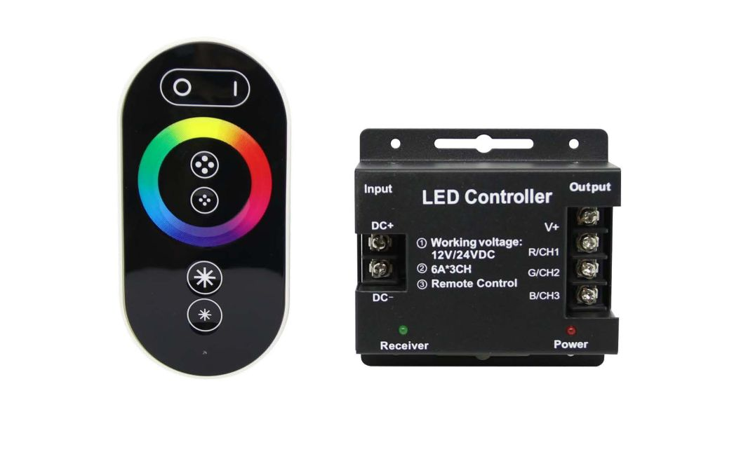LED Touch RGB Dimmer