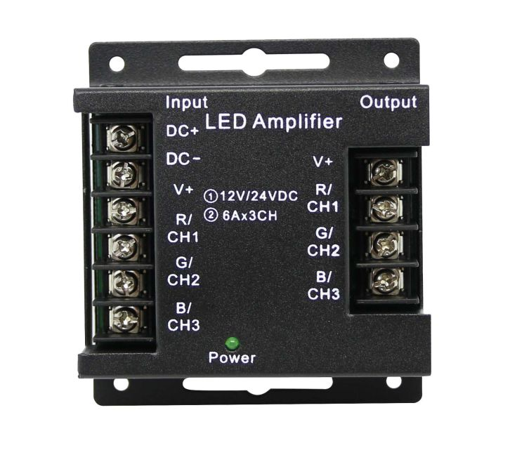 Rgb Led Amplifier Ideal Led