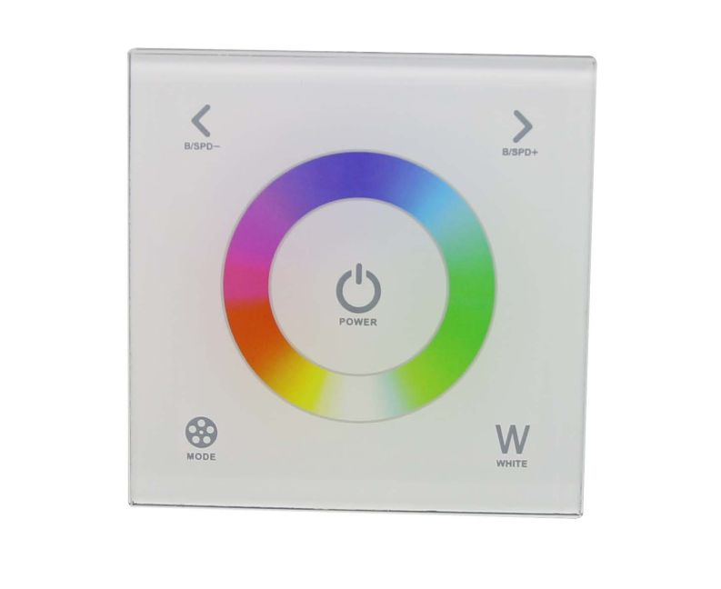 Wall RGBW Touch Panel Controller