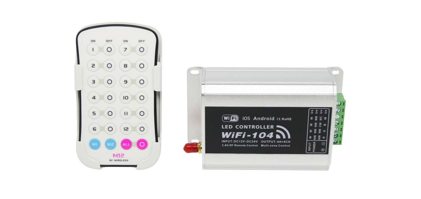 WiFi LED Control System