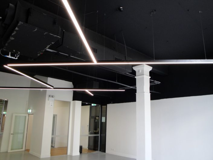 Dance Studio - LED Lighting at AMPA Sydney