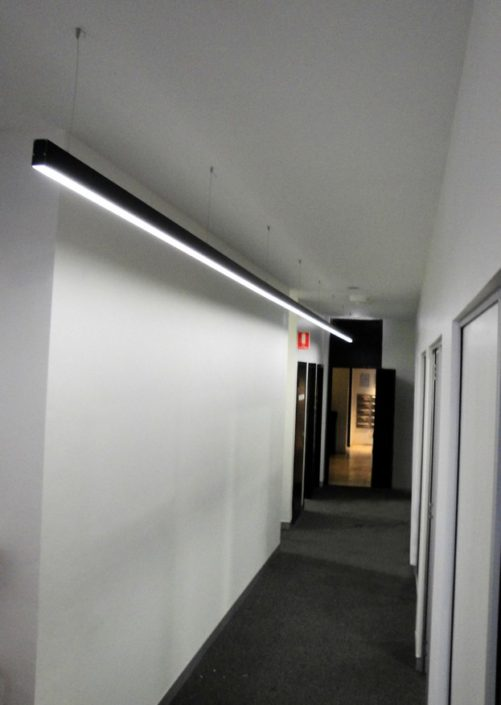Dance Studio - LED Lighting at AMPA Sydney