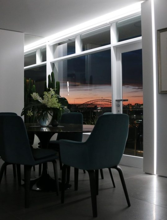 led lighting dining room