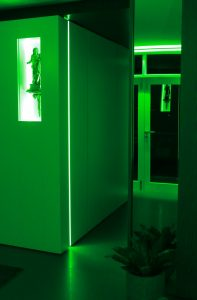 green LED lighting