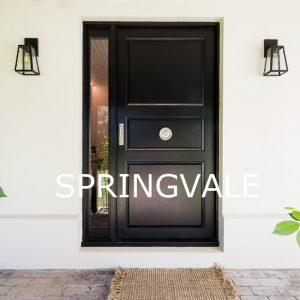 Springvale Front Entrance Lighting